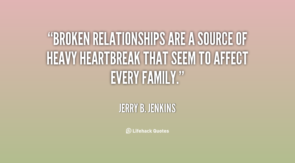 review of related literature about broken family relationship This study on review of literature on retention initiatives undertakes the following objectives: i to find out the various research works that have been done in the area of employee retention.