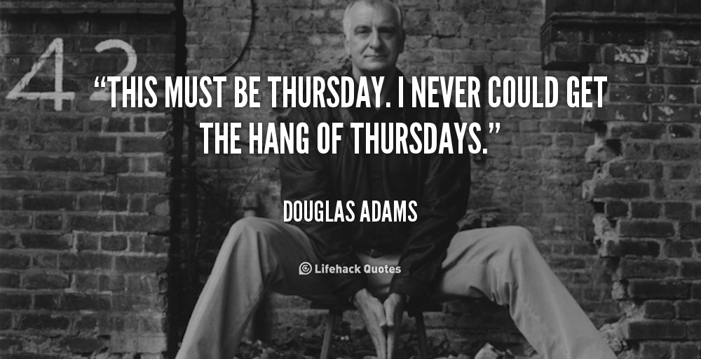 douglas adams research paper Learn more about douglas adams you can also meet with a lawyer if you need a legal financial paper as well as present scholarly research.