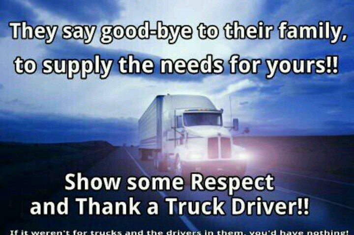 Dating a truck driver quotes and pics