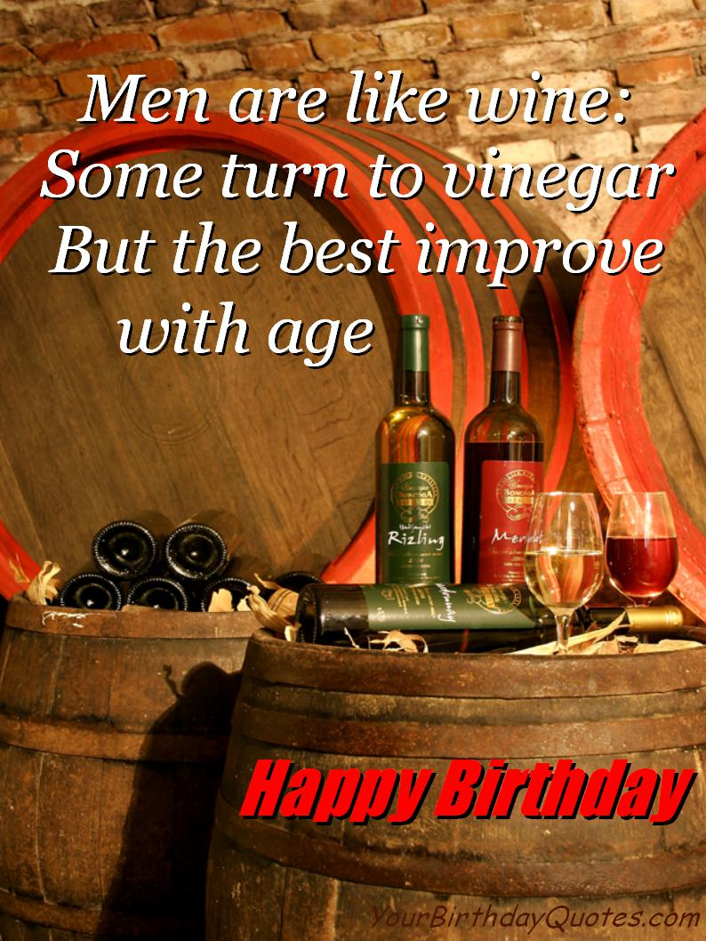 Quotes About Birthday And Wine 21
