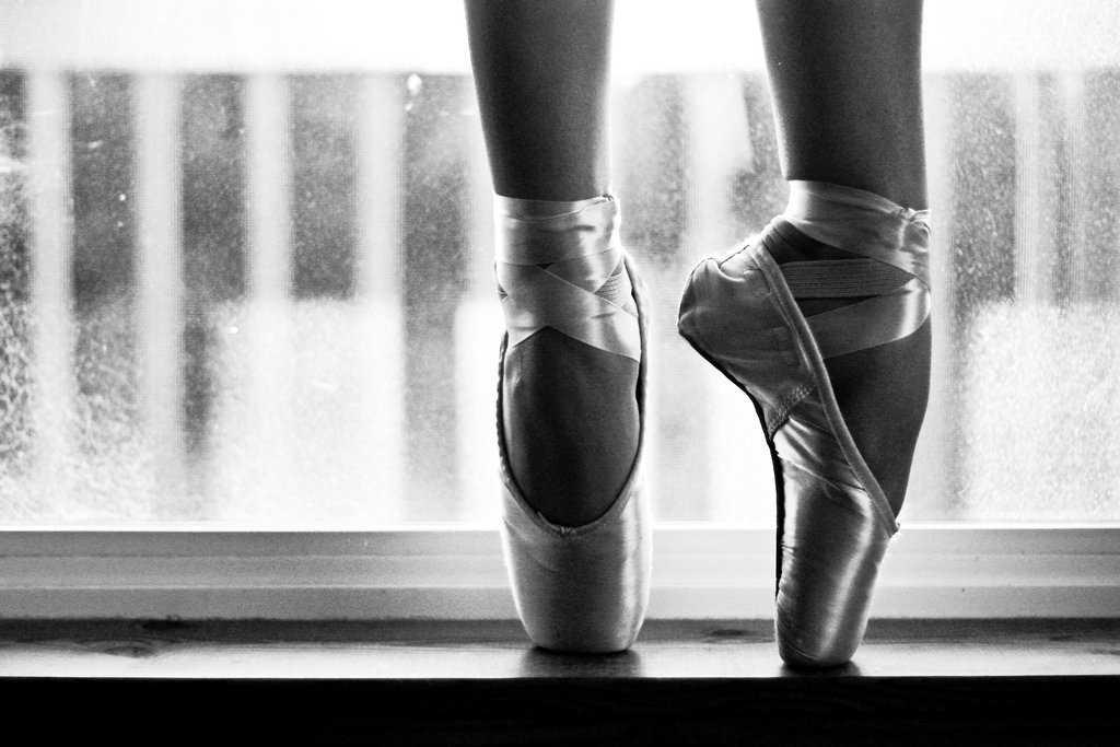 Ballet Pointe Shoes Stock Photos and Images  alamycom