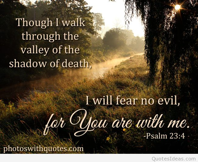 bible quotes about fear