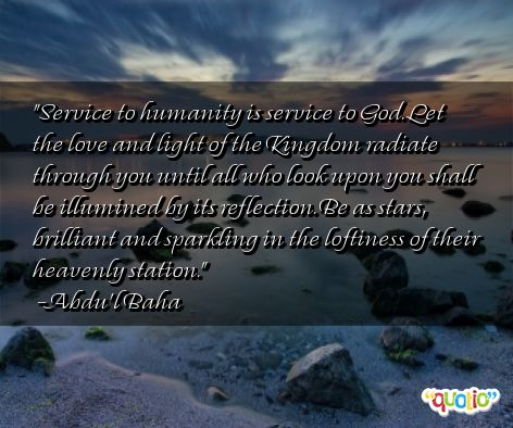 essay writing on service to man is service to god