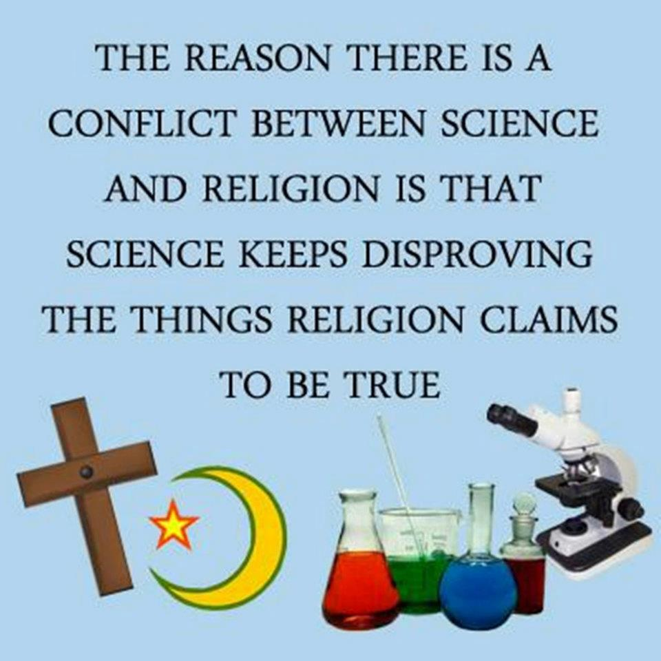 science religion conflict thesis