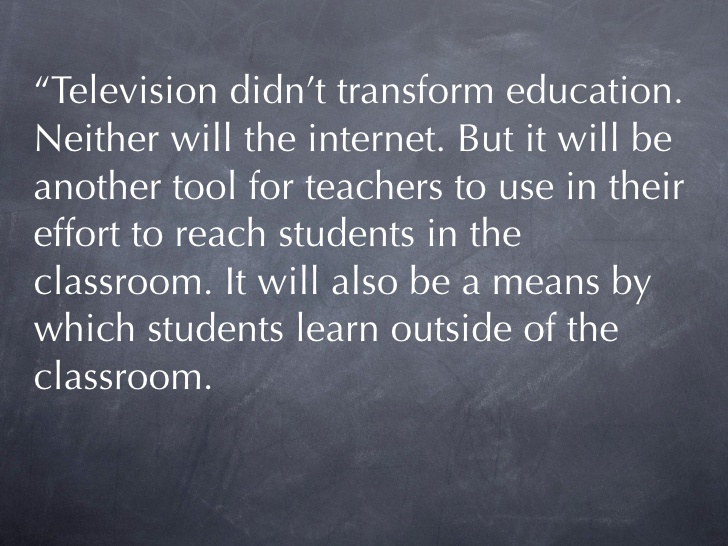 Quotes about Classroom technology (30 quotes)