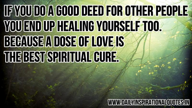Spiritual Healing Quotes Delectable Quotes About Spiritual Healing 48 Quotes