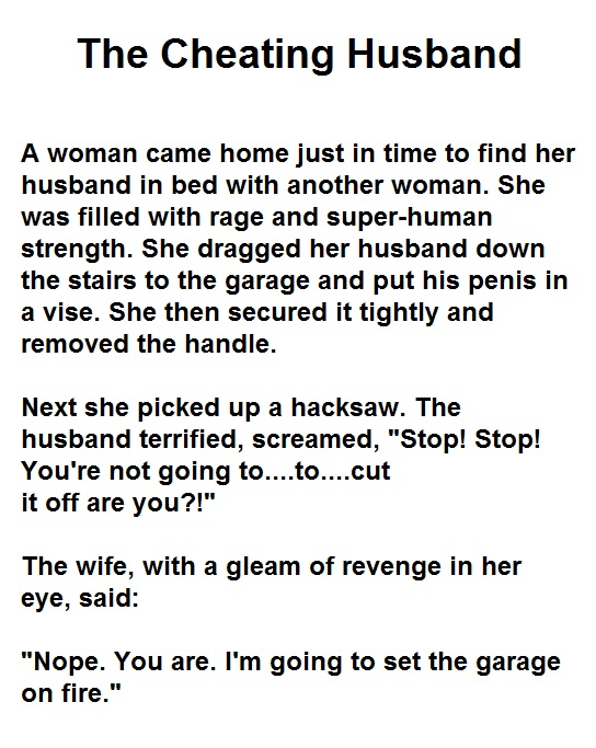 serial cheating husband