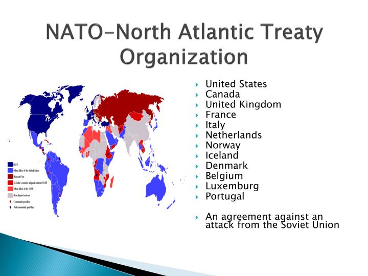 an introduction to the history of the north atlantic treaty organization Continuing to provide a concise approach to this crucial organization, the second edition of the north atlantic treaty organization: the enduring alliance is fully updated to take in the.