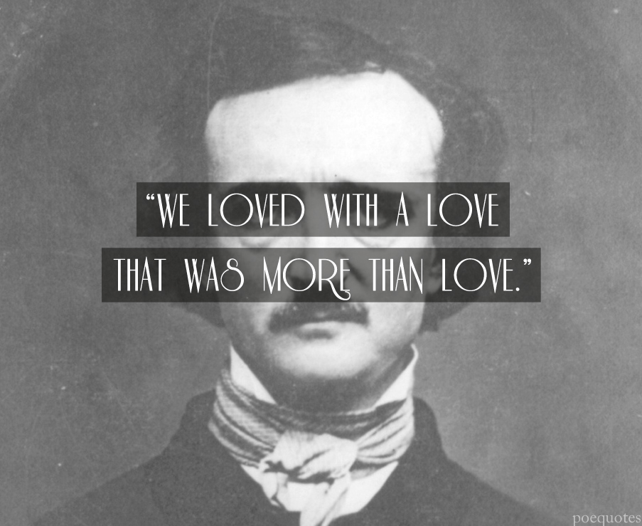 a personal opinion on the style tone and imagery of edgar allan poes poetry