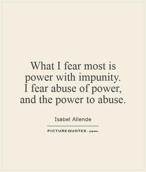 Quotes About Misuse Of Power 60 Quotes Stunning Abuse Quotes