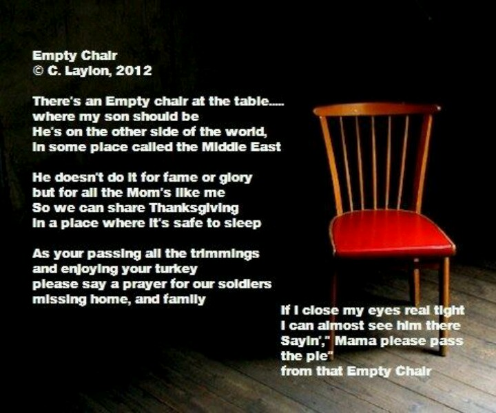 Quotes About Empty Chairs 45 Quotes