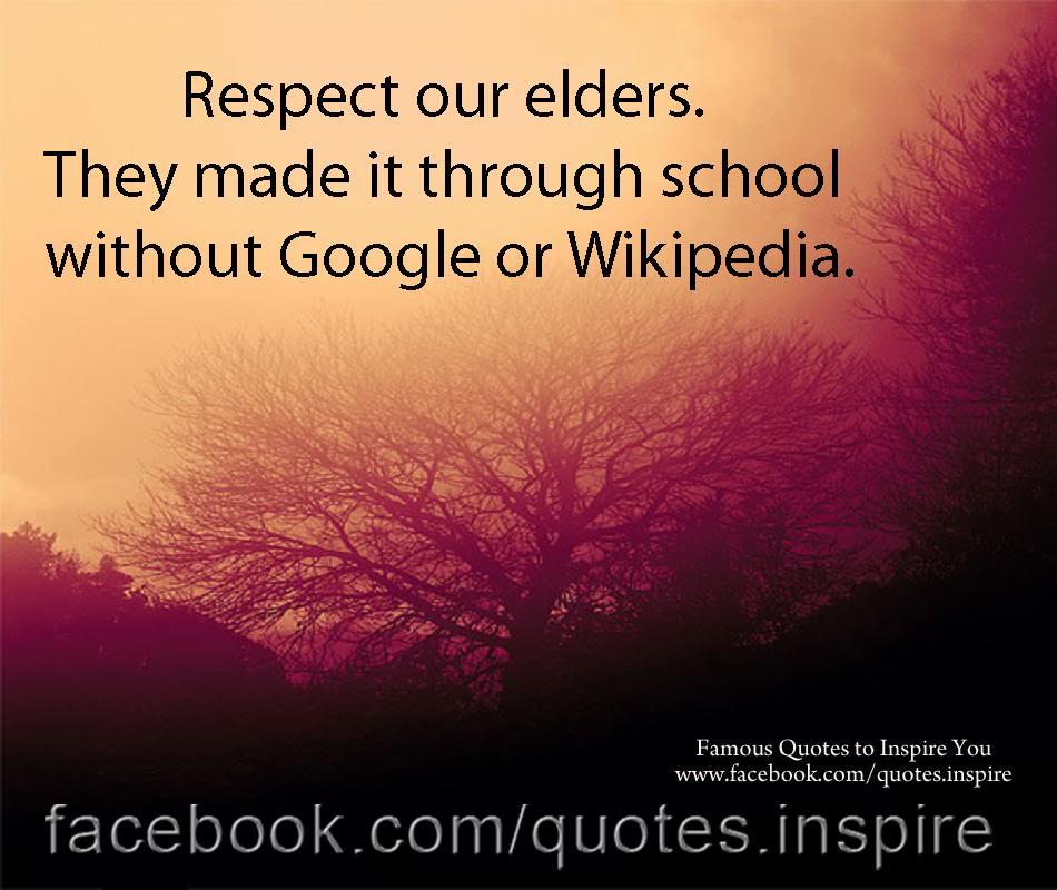our elders essay