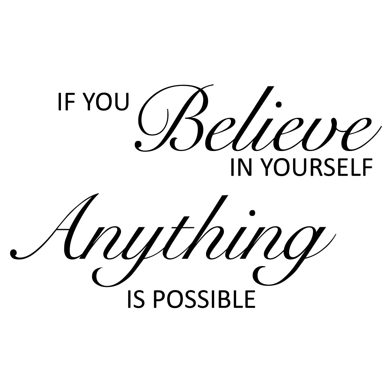 quotes about if you believe in yourself 121 quotes