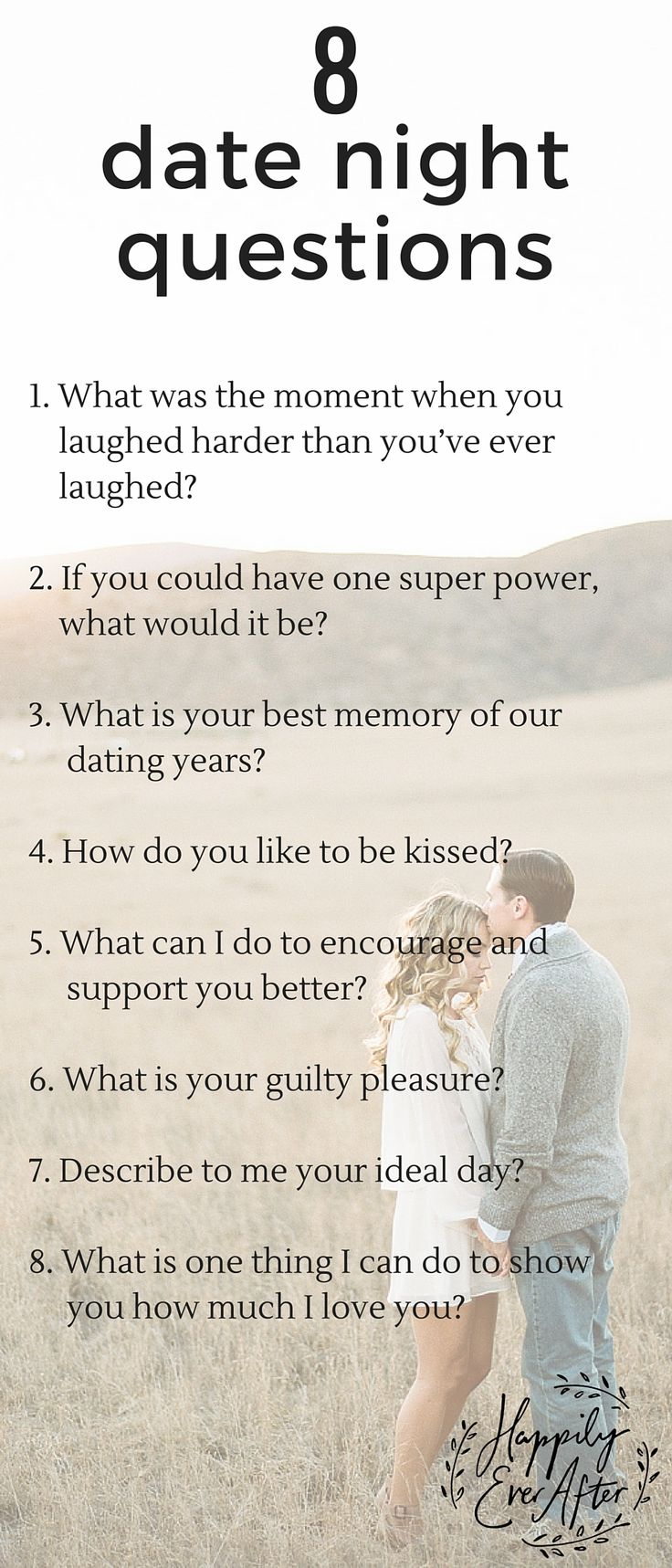 What questions do dating sites ask