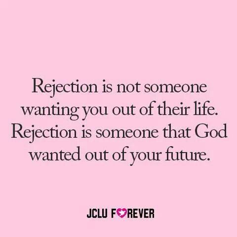 Rejection in a relationship