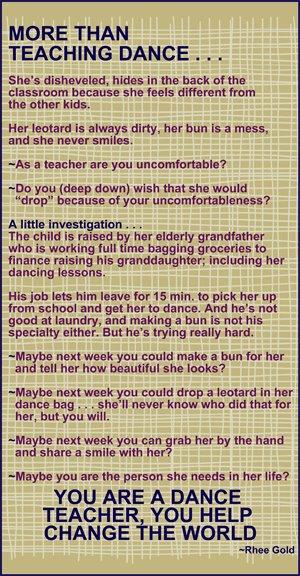 Quotes About Dance Teacher (42 Quotes