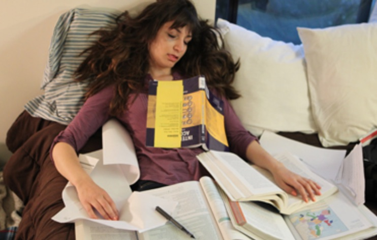 four bad habits of college students