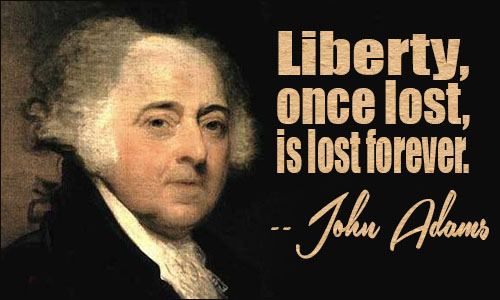 john adams and the coming of the revolution thesis