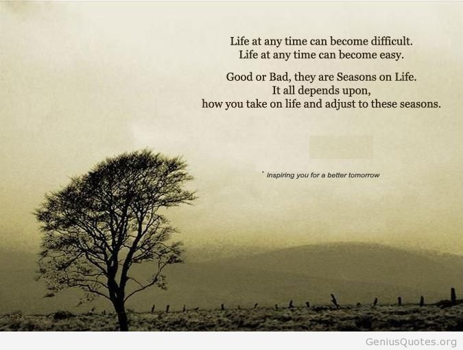 Quotes About Seasons Of Life (76 Quotes