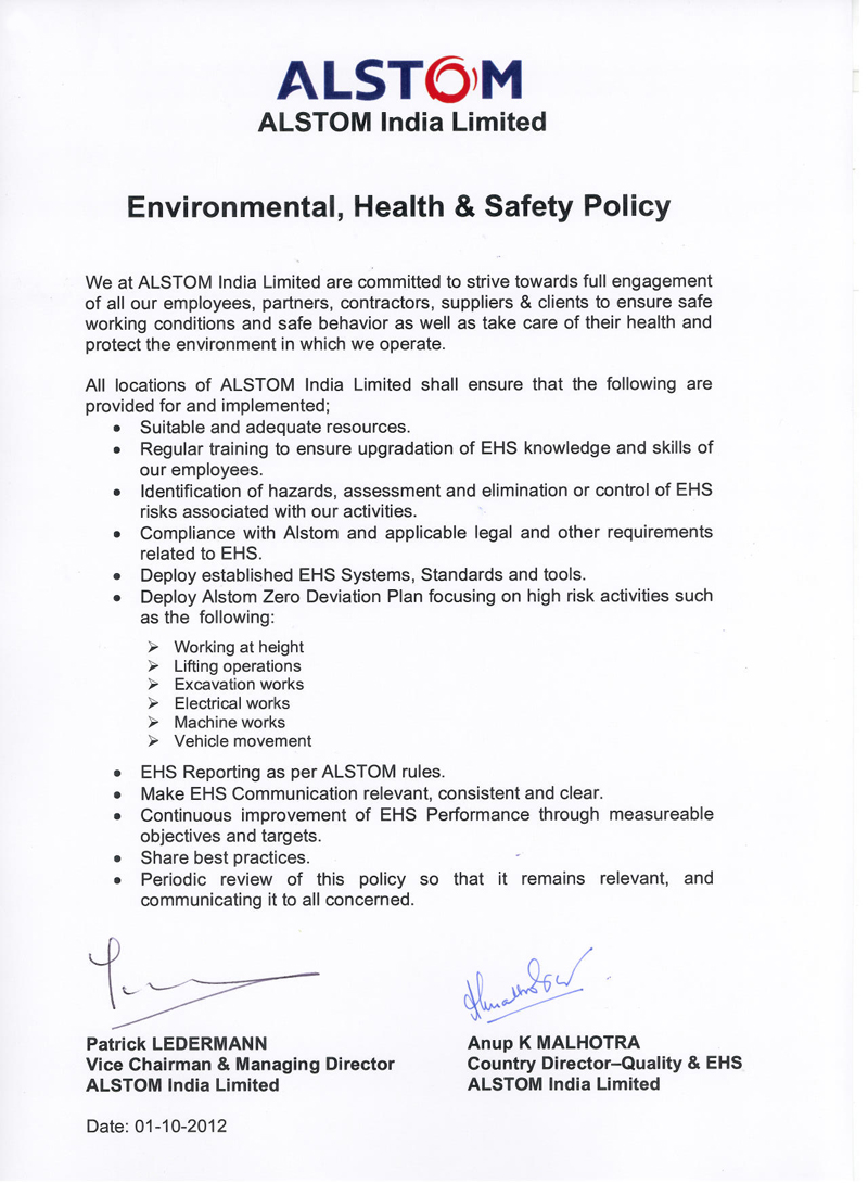 example of environmental policy Iso 14001 2015 policy statement example 1 2-environmental policy organisation name & logo iso 14001:2015 environmental policy (briefly describe your company profile, process and scope of your environmental management system) the organisation name is committed to protecting the local and global environment of the earth.