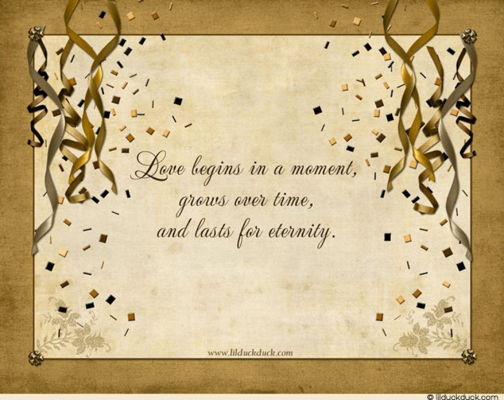 Quotes About Wedding Anniversary 64 Quotes