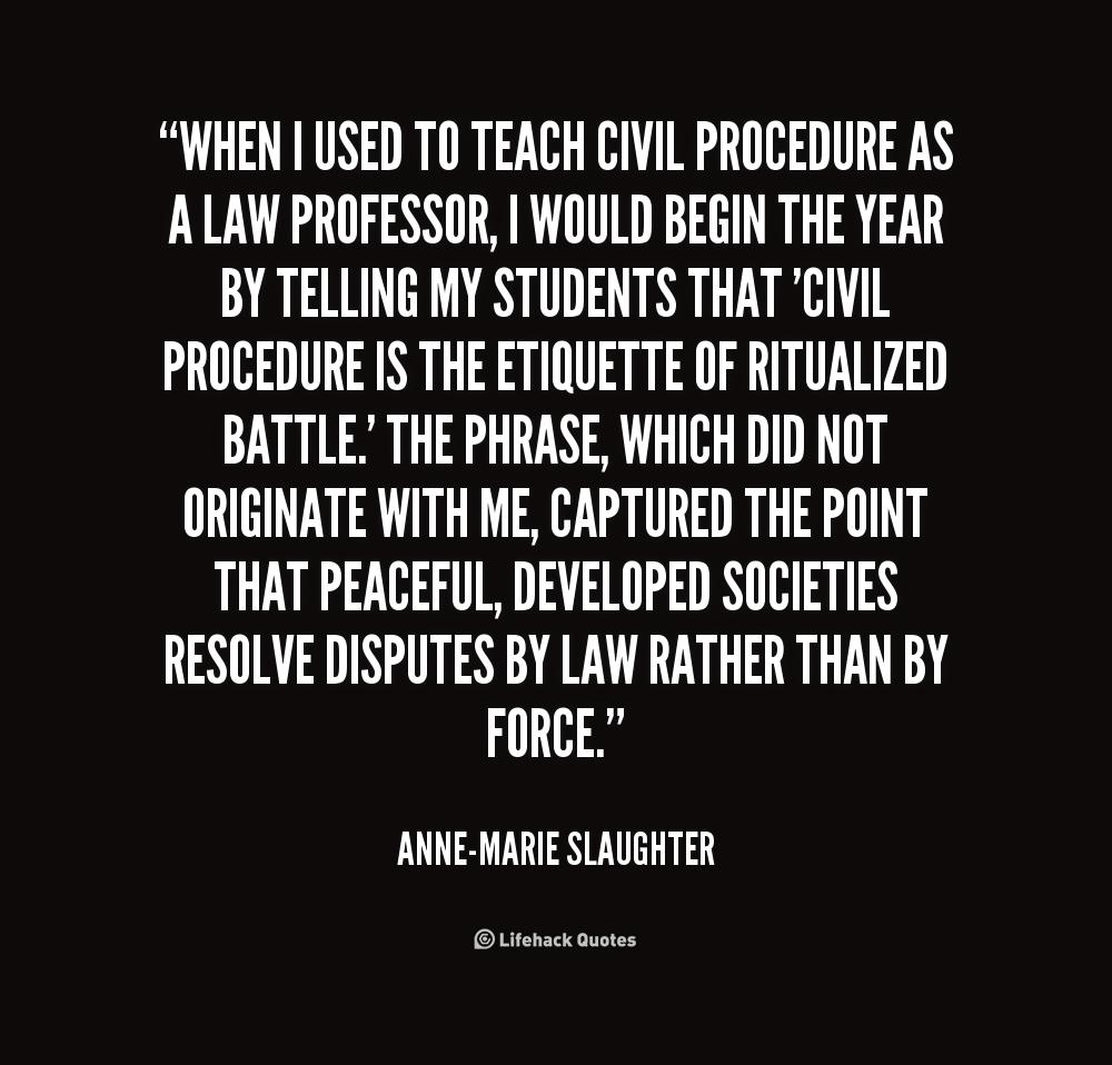 civil law quotes