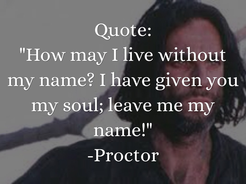 elizabeth proctor quotes in the crucible