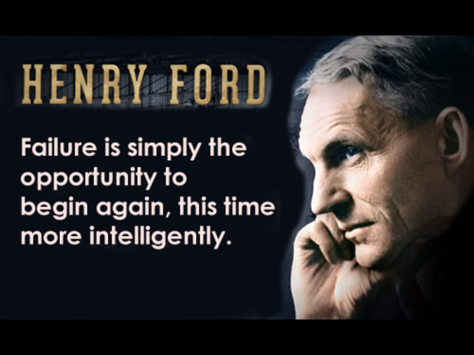 henry ford the leadership qualities Henry ford on leadership henry ford leaves us much to be admired but he also reminds us of the importance of a healthy self-awareness on failure.