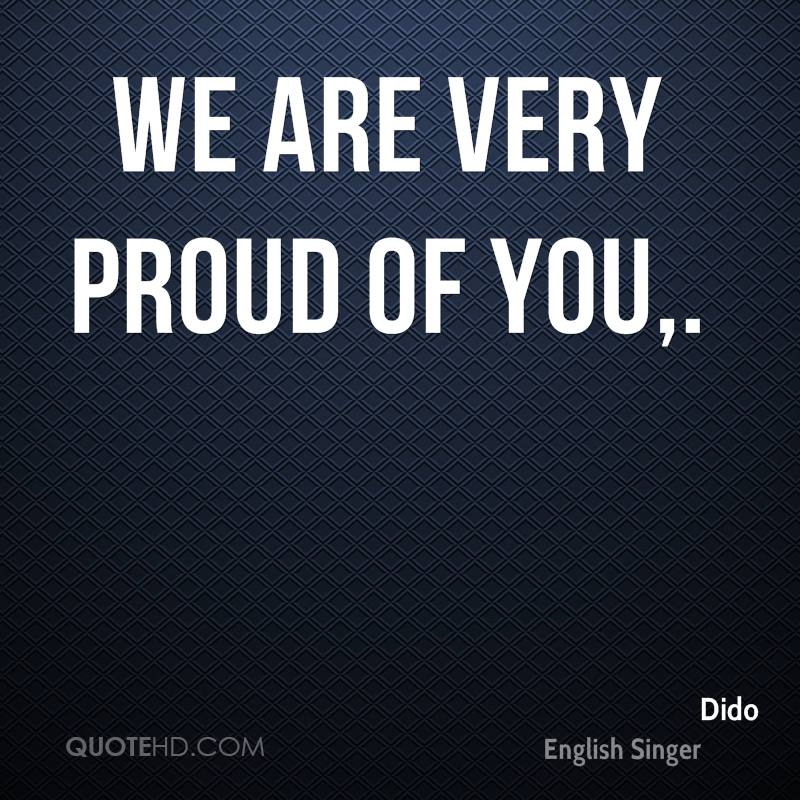 Quotes About Proud Of You 60 Quotes Simple Proud Of You Quotes