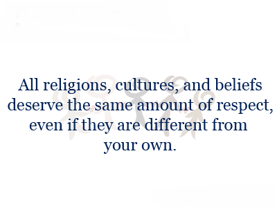 Quotes About Respecting Religion Of Others 60 Quotes Stunning Quotes About Respecting Others