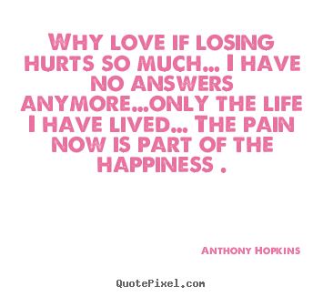 why love is hurt