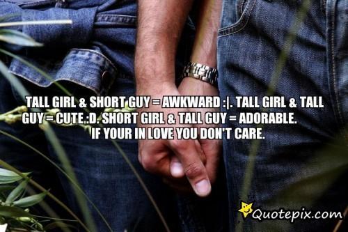 girls with short boyfriends