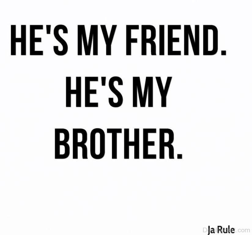 Poke my brothers friend