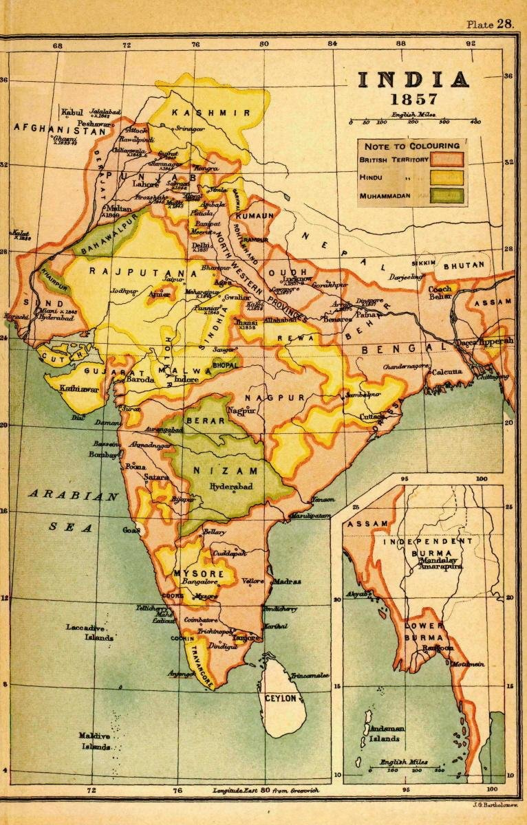 history of india before british rule