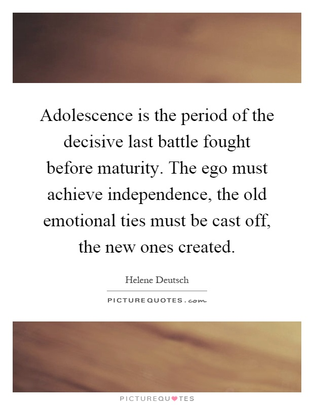 adolesence essay Adolescence essay an adolescence is period of physical and psychological development from the onset of puberty to maturity the adolescent is no longer a.
