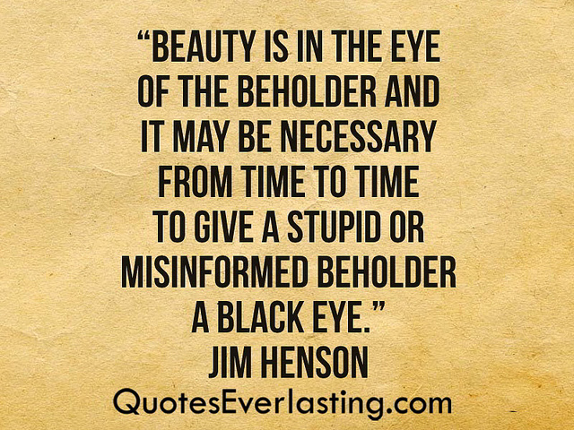 essay beauty eye beholder Essays on Beauty is in the eye of the beholder