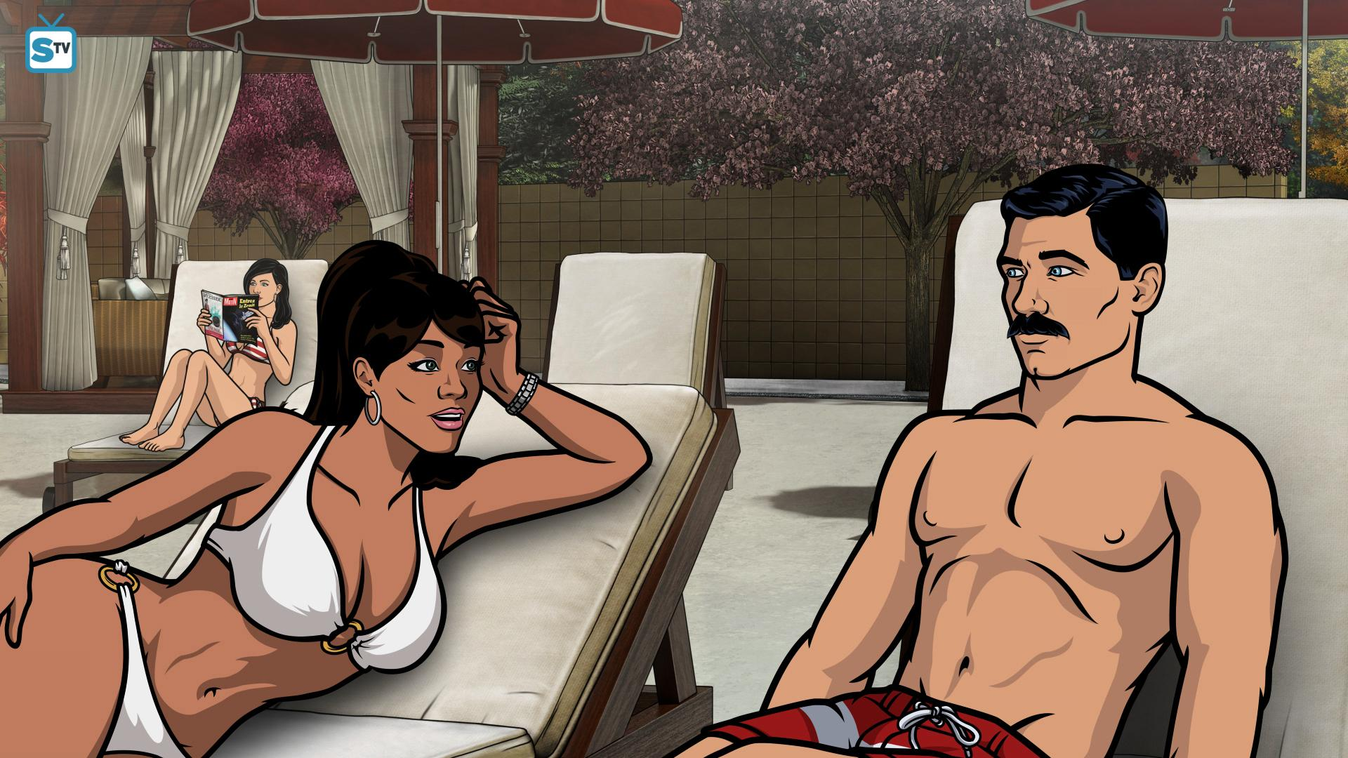 Archer having sex with lana porn hoe