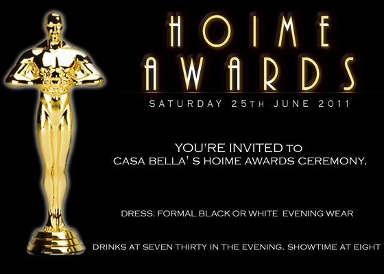 Quotes about award ceremonies 40 quotes casa bella s hoime awards ceremony dress formal black or white evening wear drinks at seven thirty in the evening showtime at eight stopboris Images