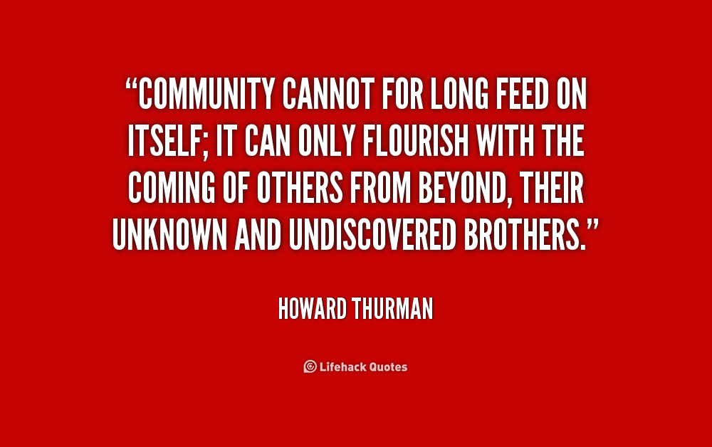 Quotes About Community And Service 60 Quotes Impressive Quotes About Community