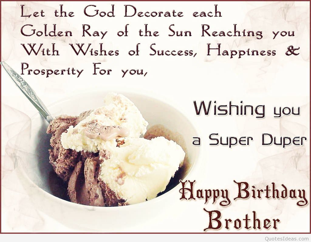 Quotes About Brother Birthday 42 Quotes