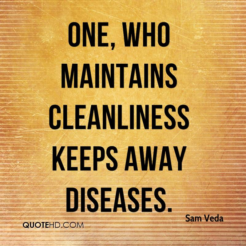 Quotes about Cleanliness (134 quotes)