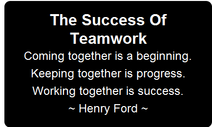 quotes about success and teamwork 29 quotes