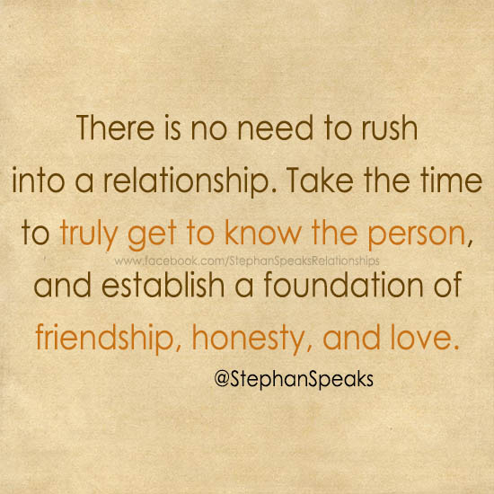 when to get into a relationship