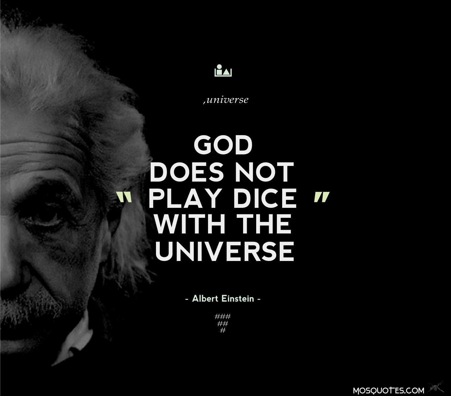 god does not play dice physics God, einstein and games of chance : the physics that describes the behavior of molecules  god does seem to play dice.