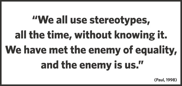 stereotypes in modern world essay