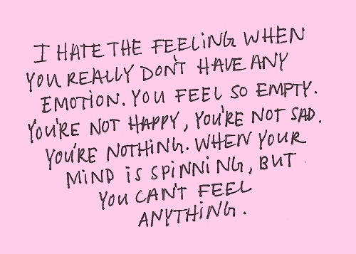 Quotes about Feeling numb (53 quotes)