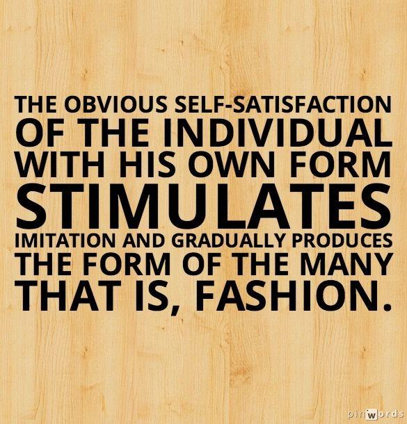self satisfaction