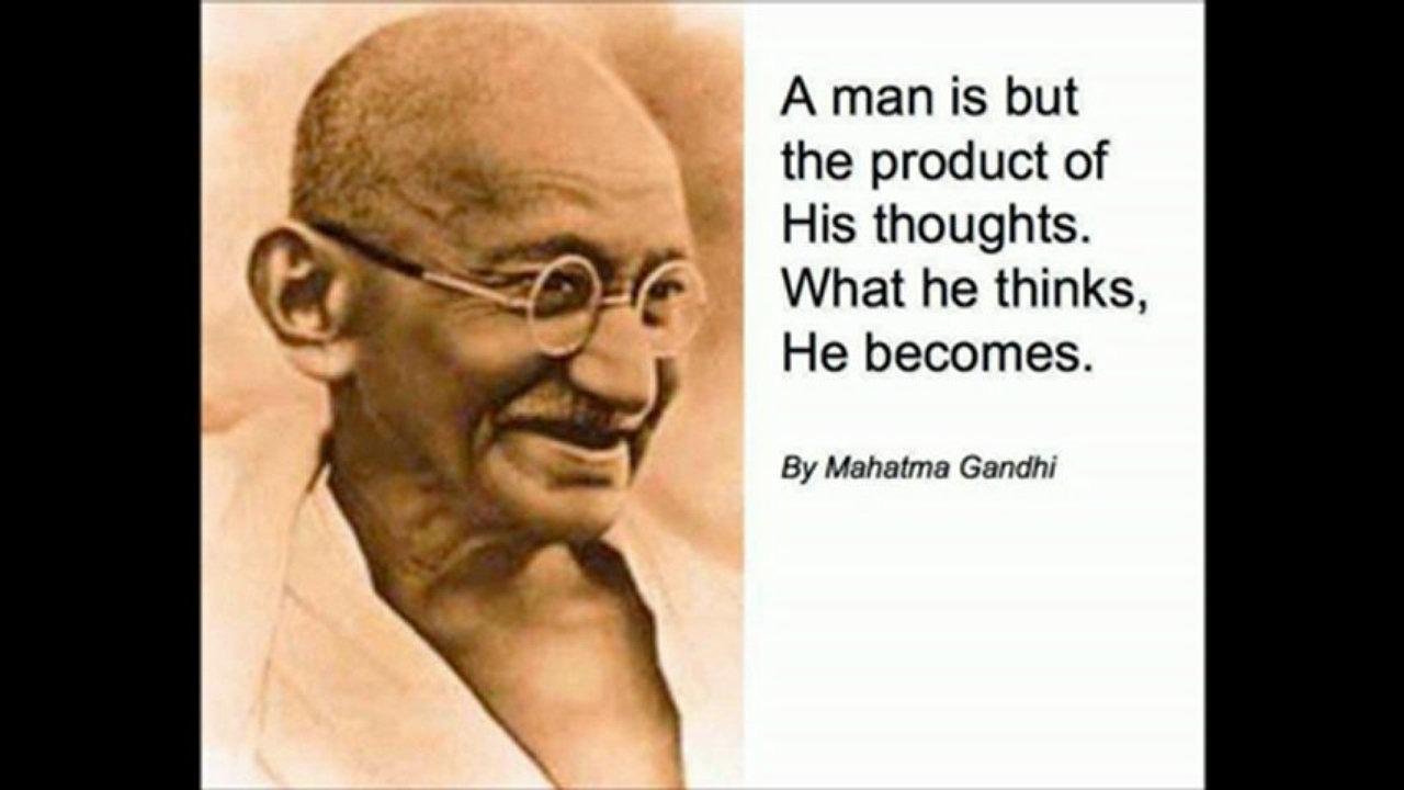 mahatma gandhi man of peace