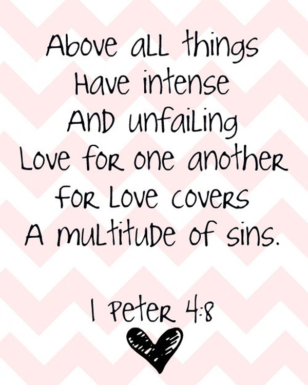 biblical love quotes and sayings