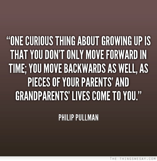 time to grow up